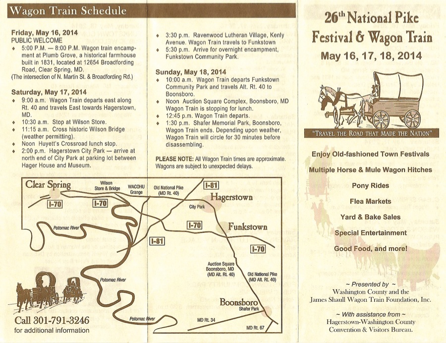 Wagon Train Schedule